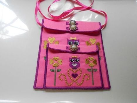 ITH Cute Owl Bags - Designs By Lizette | OregonPatchWorks | embroidery | Scoop.it