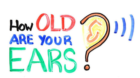 How Old Are Your Ears? (Hearing Test) | omnia mea mecum fero | Scoop.it