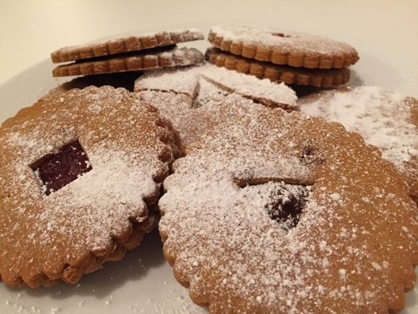 RECIPE: Gluten Free Linzer Biscuits (Jammy Dodgers) - Vegan | Gluten Free Cuppa Tea - by Free From Food Blogger, Becky, UK. | All Gluten Free All the Time | Scoop.it