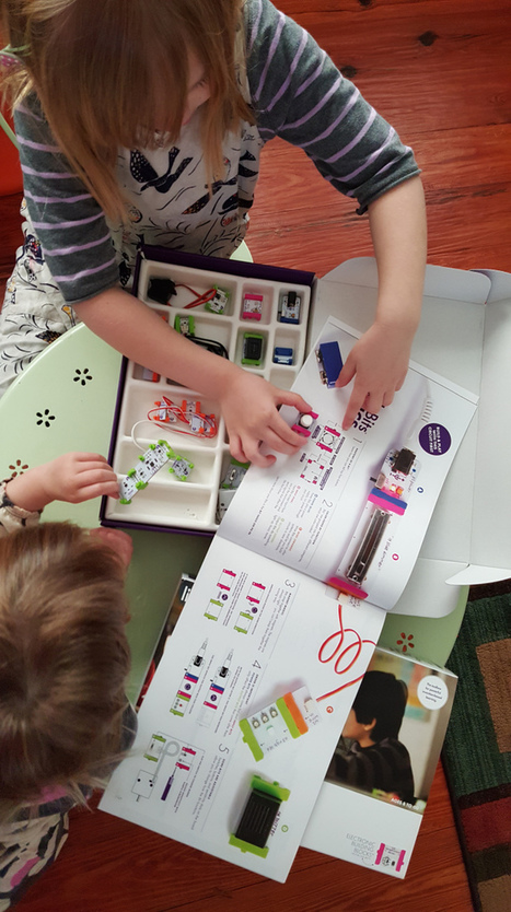 Review of New littleBits STEAM Student Set !   iPads, MakerEd and More  in Education   Scoop.it