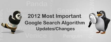 [Infographie] SEO : les 27 plus grosses mises à jour de Google en 2012|FrenchWeb.fr | Digital Marketing and WPO | Scoop.it