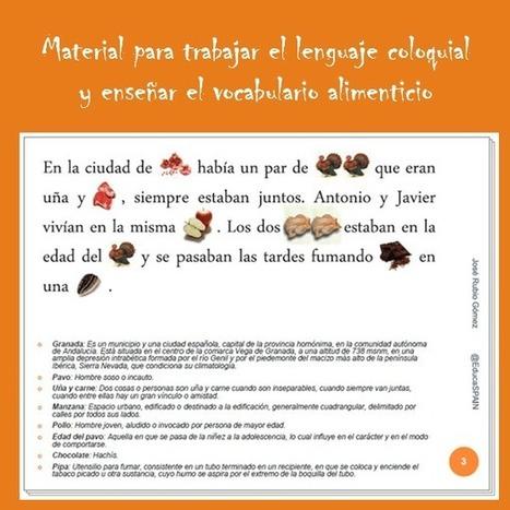 Hambre de vida (José Rubio) - Libro para aprender expresiones - EducaSpain | Español para los más pequeños | Scoop.it