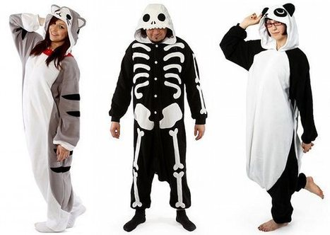 Flaunt a Funky Look with Animal Style Kigurumi Pajamas | Shopping | Scoop.it