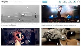 Thinglink convierte tu imagen en contenido interactivo | TICs | Scoop.it