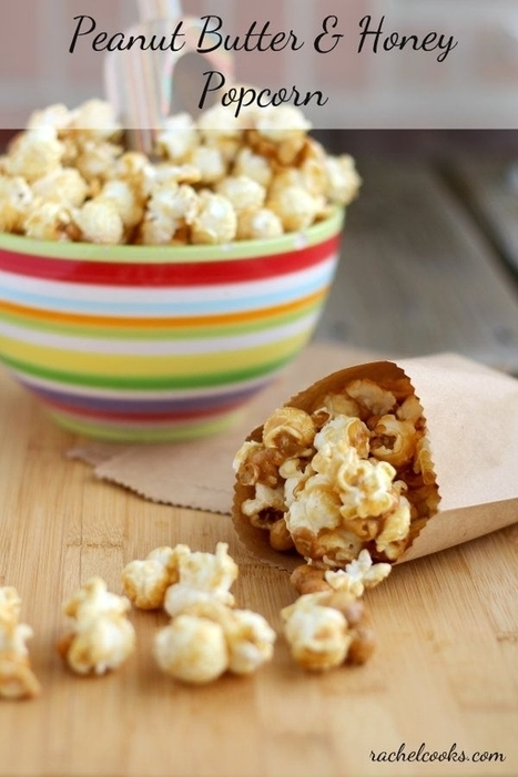 Peanut Butter Popcorn | RachelCooks.com | Passion for Cooking | Scoop.it