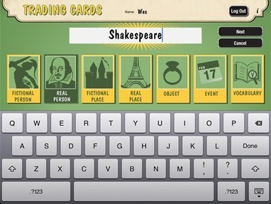 Trading Cards - ReadWriteThink | Favorite iPad Apps | Scoop.it