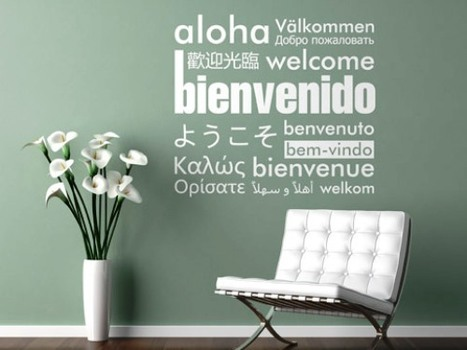 Decorar las paredes con frases inspiradoras www.casaydecoracion.net | Casa y Decoracion | Scoop.it