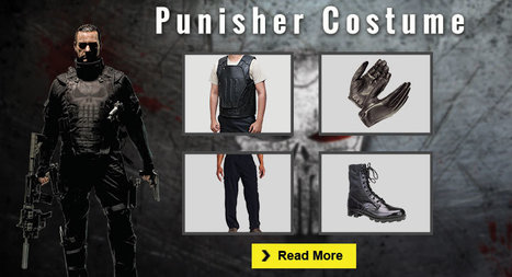 Ultimate Punisher Costume Guide for the Cosplayers | celebrities Leather Jackets | Scoop.it