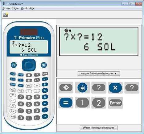 La calculatrice TI-Primaire Plus, au cœur de l'expérimentation ... - serious games et du ludo-éducatif | Education et outils nomades | Scoop.it