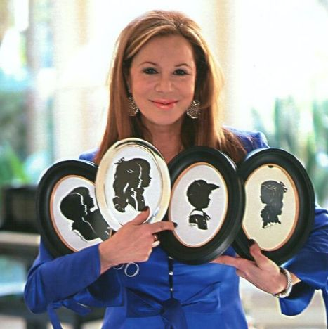 Artwork of silhouette artist will benefit the Arthritis Foundation - Your Houston News | #Spoonie Scoop | Scoop.it