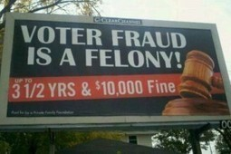 """Florida's Fraudulent Voting Witch Hunt Produces a """"Shocking"""" Number of Cases -- All Republican 
