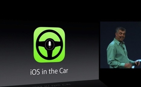 «iOS in the car», le futur de la voiture dévoilé | Open Hardware | Scoop.it
