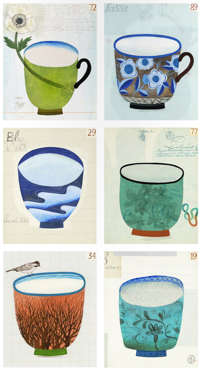 Anne Smith's Cups « Illustration Friday | Du fait main & some handmade | Scoop.it