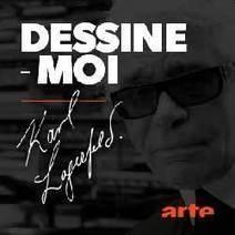 Dessine-moi Karl Lagerfeld. | Curiosité Transmedia & Nouveaux Médias | Scoop.it