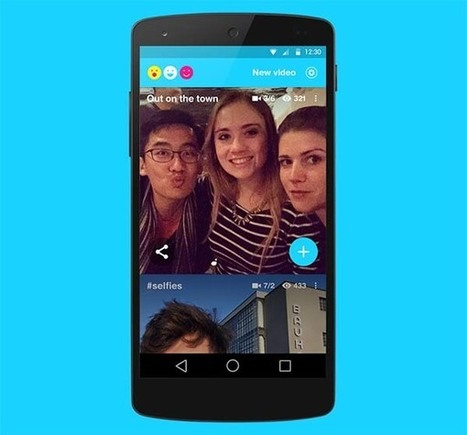 Riff, una app de Facebook para crear vídeos entre amigos - y entre compañeros de clase | Create, Innovate & Evaluate in Higher Education | Scoop.it