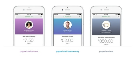 Paypal.me simplifies P2P mobile payments to catch up w/ competitors | Payments 2.0 | Scoop.it