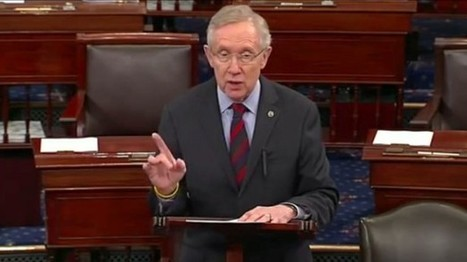 Senate Leader Harry Reid: There's no filibuster going on now | anonymous activist | Scoop.it