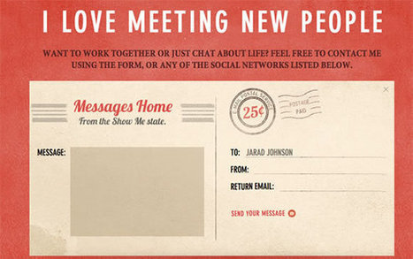 Examples of Well Designed Contact Pages | Inspiration | WordPress | Scoop.it