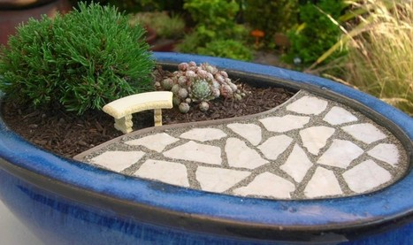 Create Your Very Own Miniature Garden Patio | Green Things | Scoop.it