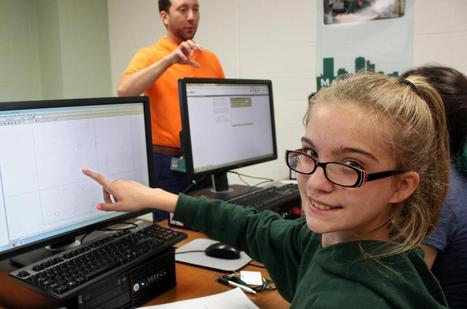 Thingamajigs @ MCC advanced manufacturing summer camp for kids! (With photo album!) | Manufacturing | Scoop.it