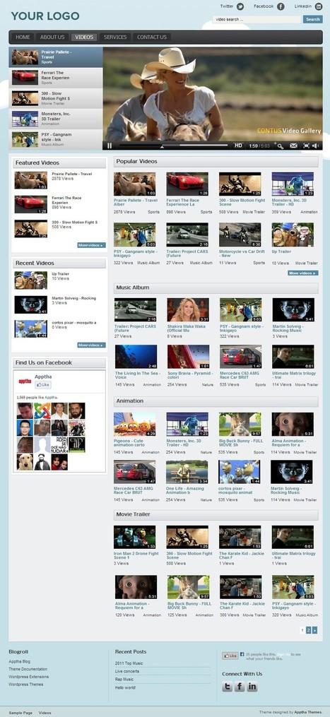 WordPress Video Gallery Plugin | Wordpress Plugins | Scoop.it