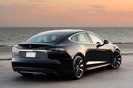 Modelul Tesla S serveste ca un nou punct de referinta  pentru toate vehiculele electrice sau conventionale | Auto fans | Scoop.it