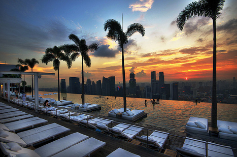 Singapore: Most amazing sky pool ever | Wicked! | Scoop.it