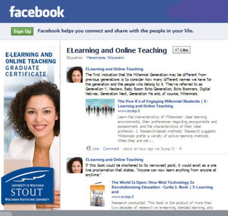 Facebook: E-Learning and Online Teaching | E-Learning and Online Teaching | Scoop.it