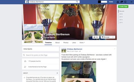 Quand les producteurs de vin se déplacent sur Facebook - | Verres de Contact | Scoop.it