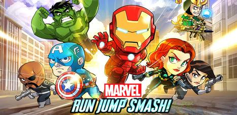 Marvel Run Jump Smash! 1.0.3 apk | Universe | Scoop.it