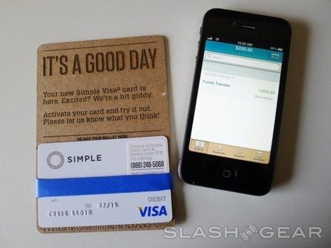 Simple iOS app Review: online-only banking made easy - SlashGear | iPhones and iThings | Scoop.it