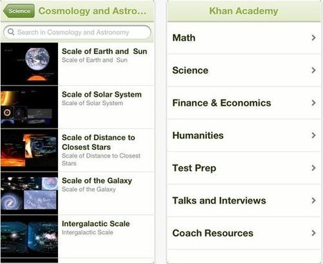 Los videos educativos de Khan Academy ya están disponibles para iPhone y iPad | IPAD, un nuevo concepto socio-educativo! | Scoop.it