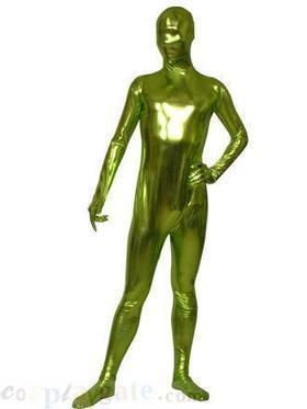 Green shiny unisex zentai suit B free Shipping - wholesale Unicolor Zentai - wholesale Shiny Metallic Zentai Suits - wholesale Catsuits & Zentai - CosplayGate.com   zentai bodysuit,spandex zentai suit bodysuit   Scoop.it