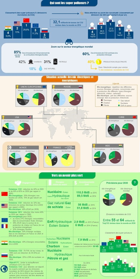 #Infographie #Transition #énergétique : #Focus sur les super #pollueurs | RSE et Développement Durable | Scoop.it