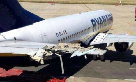 Investigation after Ryanair plane crashes into airport building | Easy Travelers | Scoop.it