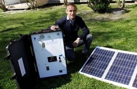Une valise autonome en énergie qui rend potable l'eau polluée   Efficycle   Scoop.it