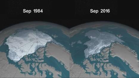 Así ha perdido hielo el Océano Ártico desde 1984 | Climax | Scoop.it