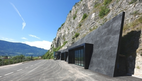 Innovative Designs: Amazing Italian Fire Station Carved In A Rock - FUSIONISTAR | More News! | Scoop.it