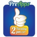 Preapps picks the top apps every tuesday at 2pm | education | Scoop.it
