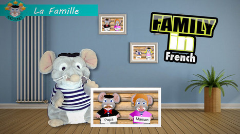Ratounet sings the Family in French | Learn French online | Scoop.it