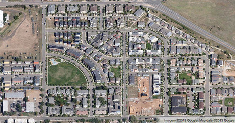 Get a Bird's-Eye View of America's Housing Patterns | URBANmedias | Scoop.it