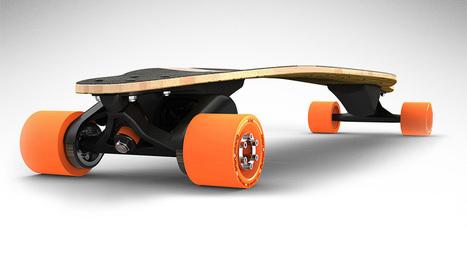 Ils inventent l'avenir – Le skateboard électrique qui va ringardiser le vélo | Usbek & Rica | Vélonews | Scoop.it