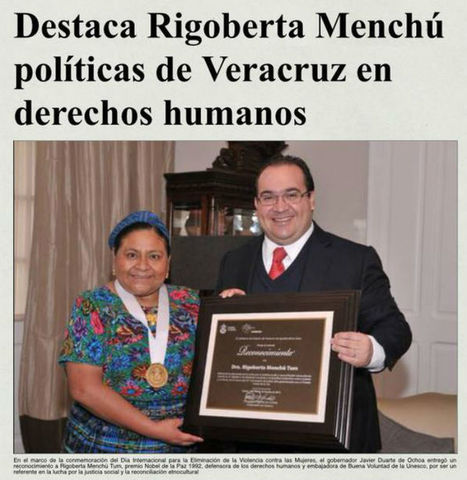 Los 40 mil dólares de Rigoberta | Activismo en la RED | Scoop.it