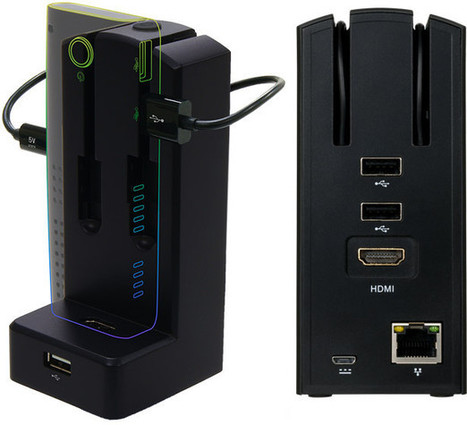 Diginnos Docking Station Adds USB Ports and Ethernet to HDMI TV Sticks | Embedded Systems News | Scoop.it