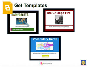 Google Slides Templates to Construct Knowledge Through Research | Google Docs for Learning | Scoop.it