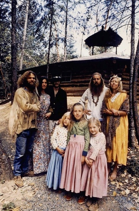 Rare and Unseen Color Photographs of America's Hippie Communes from the 1970s - The Vintage News | Arte y Cultura en circulación | Scoop.it
