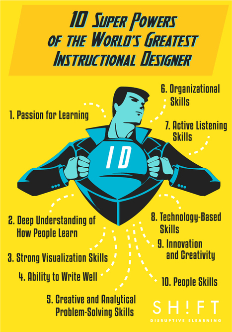 10 Super Powers of the World's Greatest Instructional Designer | Educational technology , Erate, Broadband and Connectivity | Scoop.it
