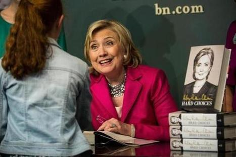 The Hillary Clinton book tour -- How books help a presidential candidate - The Boston Globe | Reading discovery | Scoop.it