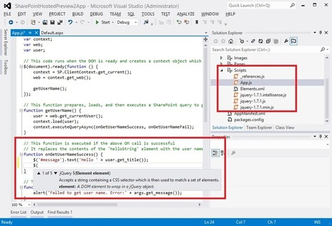 SharePoint Dev Tools Preview 2 Changes - Tom Resing's SharePoint Blog | All About SharePoint | Scoop.it