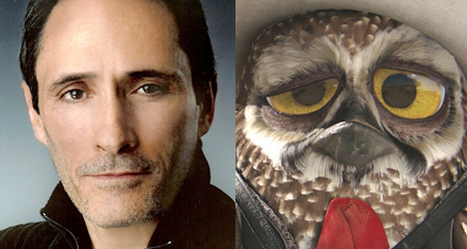 "Promo Voice for 'Glee,' ""American Idol' and 'Sopranos' Voice Actor George DelHoyo narrates as Mariachi Owl in 'Rango' 